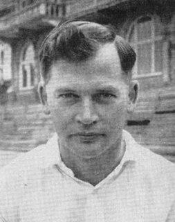 Geoff Millman English cricketer