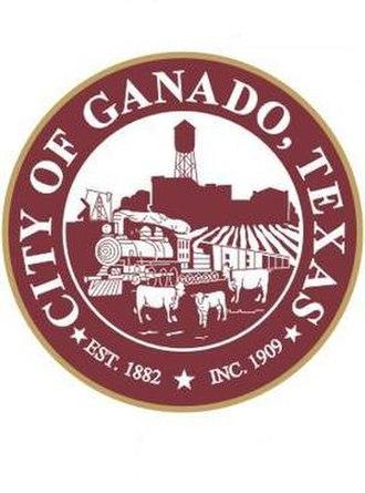 Ganado, Texas - Image: Ganado,Texas seal