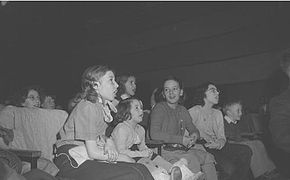 Girls at a Garneau show in 1950.