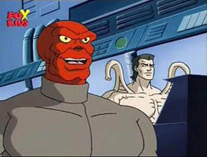Red Skull - Red Skull in the 1994 Spider-Man animated series.
