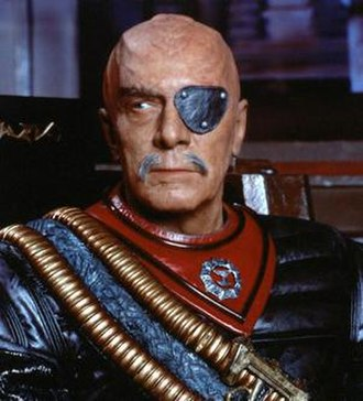 Chang (Star Trek) - Christopher Plummer as General Chang in Star Trek VI: The Undiscovered Country