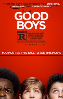 <i>Good Boys</i> (film) 2019 film directed by Gene Stupnitsky