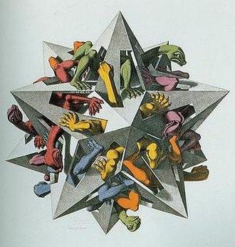 Gravitation (M. C. Escher) - Image: Gravitation