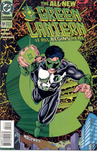 Image result for Kyle Rayner would have existed on Earth-8 as that world's Green Lantern.