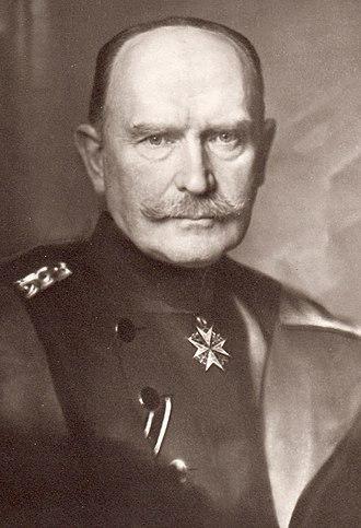 Hans Hartwig von Beseler - Hans Hartwig von Beseler