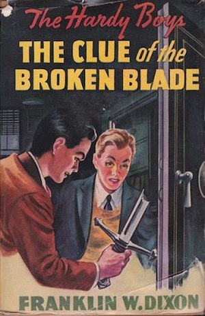 The Clue of the Broken Blade - Original edition