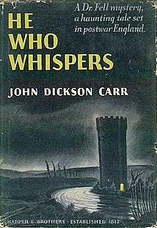 Image result for he who whispers john dickson carr