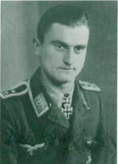 Heinz Marquardt German flying ace