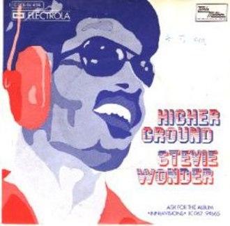 Higher Ground (Stevie Wonder song) - Image: Higher Ground 45