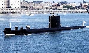 HMS Oberon (S09) - Image: Hms oberon s 09