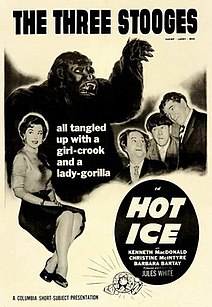 <i>Hot Ice</i> (1955 film) 1955 film by Jules White