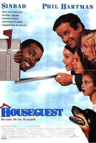 Houseguest - Promotional movie poster
