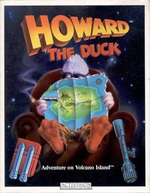 Howard the Duck (video game) - Cover art for Commodore 64