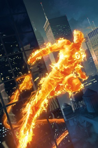 Human Torch - Image: Human Torch (Johnny Storm)