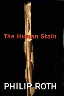 <i>The Human Stain</i> 2000 novel by Philip Roth