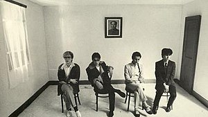 Japan (band) - Japan in 1981: Sylvian, Jansen, Karn, Barbieri