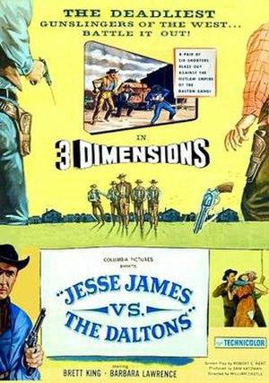 Jesse James vs. the Daltons - Image: Jesse James vs the Daltons 1954 film poster