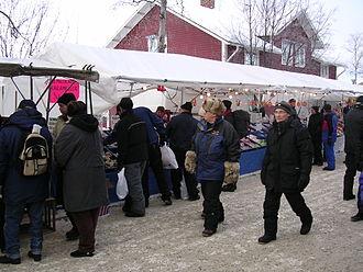 Jokkmokk Municipality - Jokkmokk's famous winter market.
