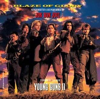 Blaze of Glory (Jon Bon Jovi album) - Image: Jon bon jovi blaze of glory