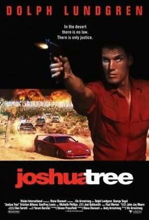 Joshua Tree (1993 film) - Theatrical release poster