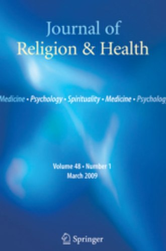 Journal of Religion & Health - Image: Journal of Religion and Health