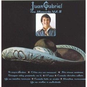 Juan Gabriel con Mariachi Vol. II - Image: Juan Gabriel con Mariachi, Vol. 2