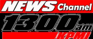 KPMI - Image: KMPI AM News Channel 1300 logo