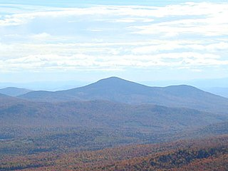 Kearsarge North mountain in United States of America
