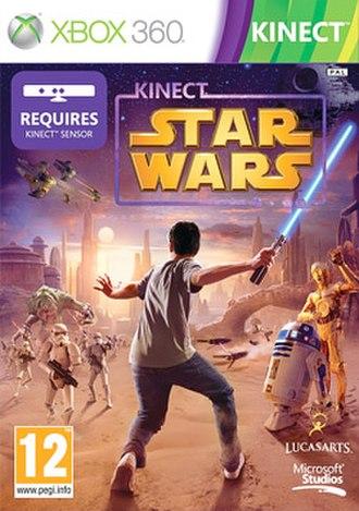 Kinect Star Wars - European cover art