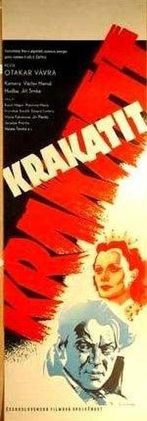 Krakatit - Theatrical release poster