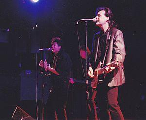 Kurt Neumann (musician) - Kurt Neumann (right) in 1988