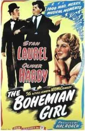 The Bohemian Girl (1936 film) - 1946 theatrical re-release poster