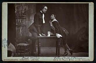 Nellie Farren - Fred Leslie and Nellie Farren in Little Jack Sheppard