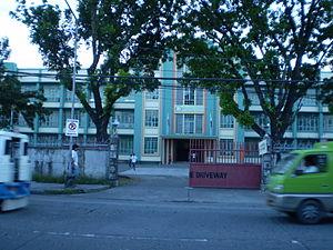 Divine Word University of Tacloban - Liceo del Verbo Divino entrance facade