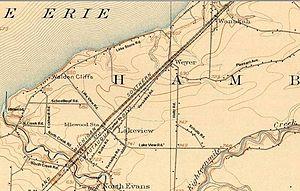 Lake View, New York - Lake View in 1907