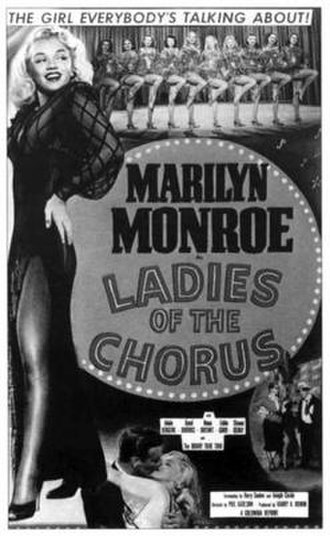 Ladies of the Chorus - Reissue theatrical poster