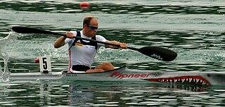 Eirik Verås Larsen Norwegian sprint kayaker