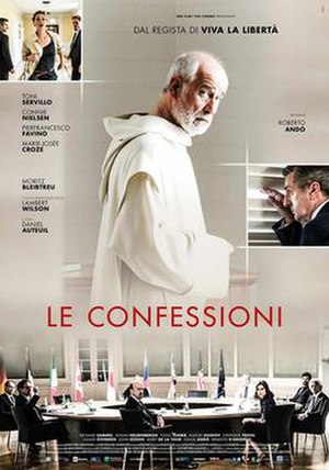 The Confessions (film) - Italian release poster