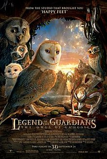 legend of the guardians the owls of ga hoole wikipedia