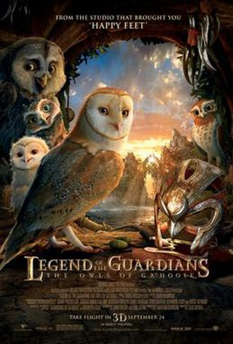 Legend of the Guardians: The Owls of Ga'Hoole - Theatrical release poster