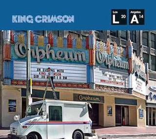 <i>Live at the Orpheum</i> 2015 live album by King Crimson