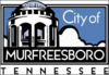 Official logo of Murfreesboro, Tennessee