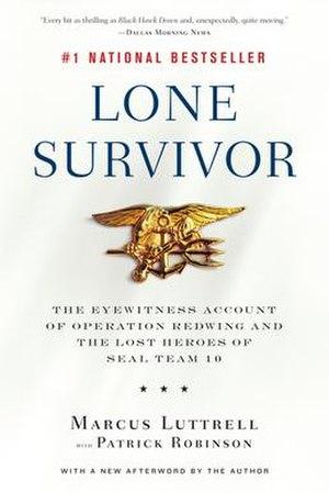 Lone Survivor (book) - Image: Lone Survivor Book