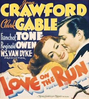 Love on the Run (1936 film) - Original theatrical poster