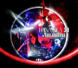 Luna Sea 3D in Los Angeles - Image: Luna Sea 3D album