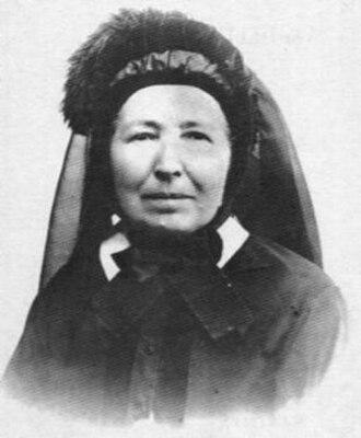 Mélanie Calvat - Mélanie Calvat, 1903, Moulins, France.
