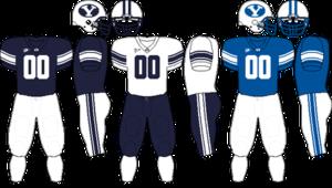 2009 BYU Cougars football team - Image: MWC Uniform BYU 2009