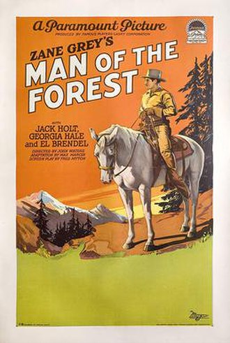 Man of the Forest (1926 film) - Image: Man of the Forest (1926 film)