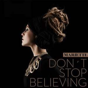 Don't Stop Believing (Mariette song) - Image: Mariette Don't Stop Believing