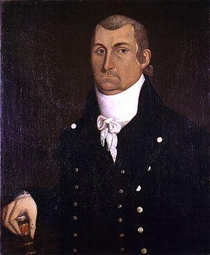 Marquis Calmes - Marquis Calmes, 1806. Portrait by Jacob Frymire
